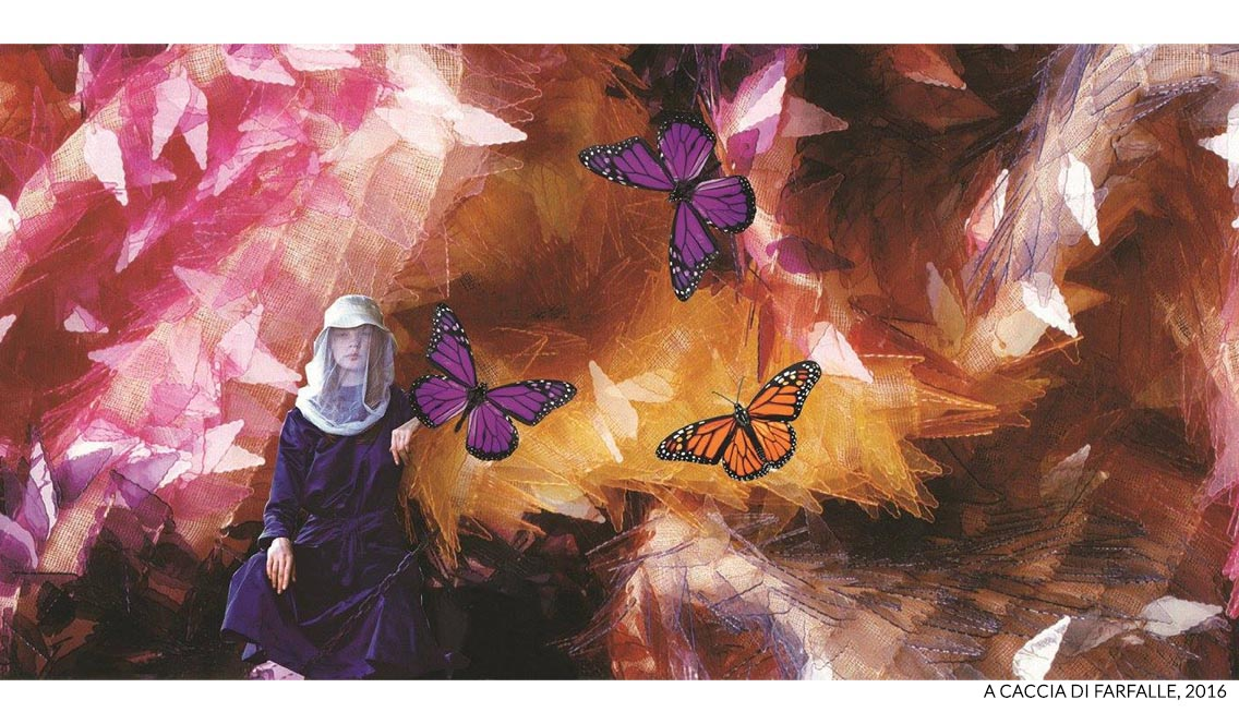 marisa coppiano collage lampare