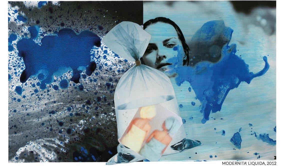 marisa coppiano collage geometrie liquide