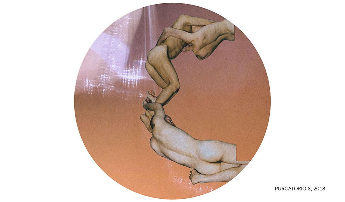 marisa coppiano atelier fine art collage divina commedia