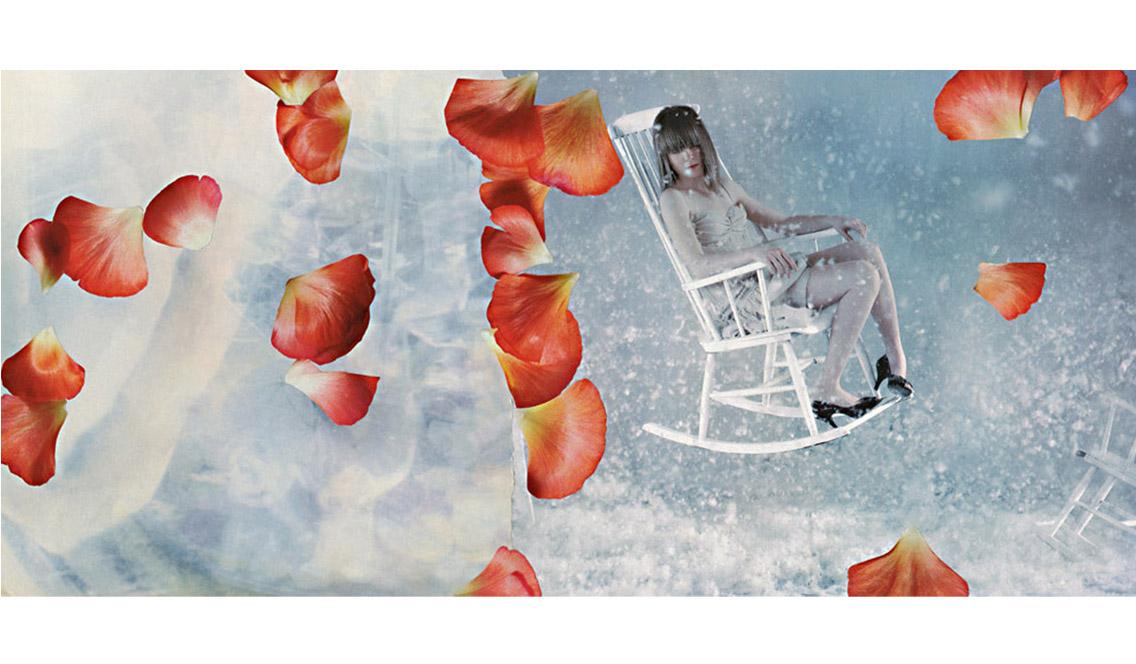 marisa coppiano collage florilegio
