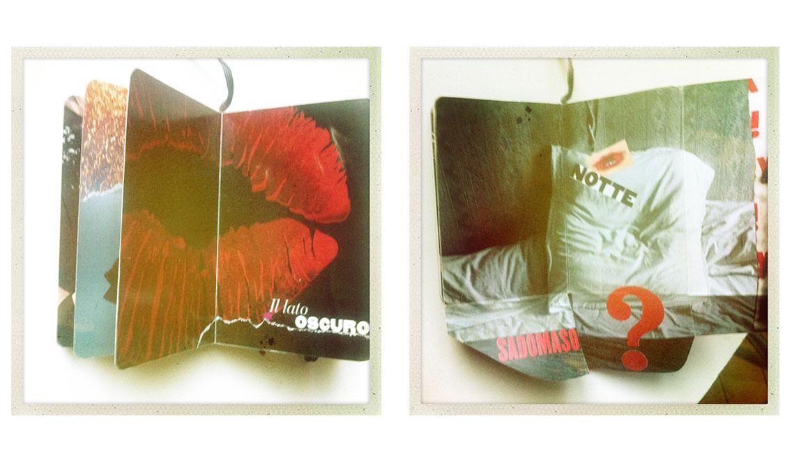 marisa coppiano collage appunti passione